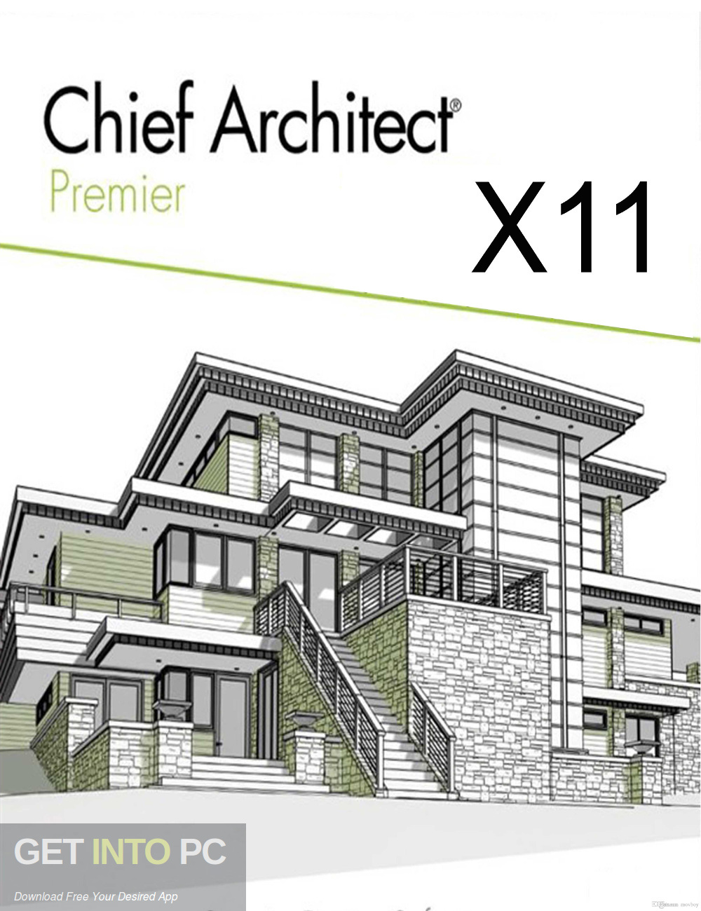 Chief Architect Premier X11 Free Download-GetintoPC.com