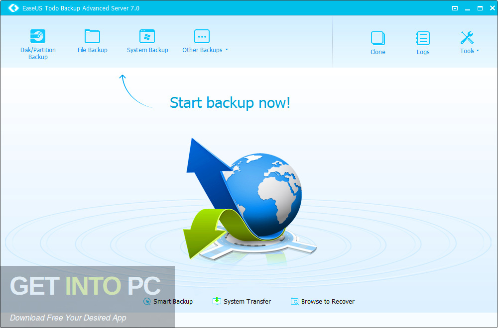 EaseUS Todo Backup Advanced Server 2018 Latest Version Download-GetintoPC.com