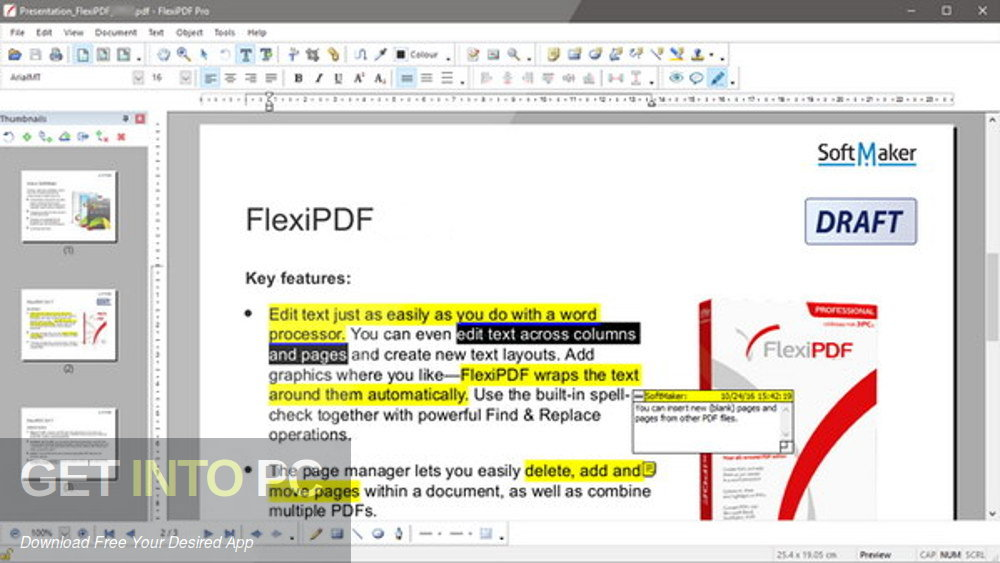 FlexiPDF 2019 Professional Latest Version Download-GetintoPC.com