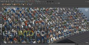 Golaem-Crowd-for-Maya-2016-2018-Free-Download-GetintoPC.com