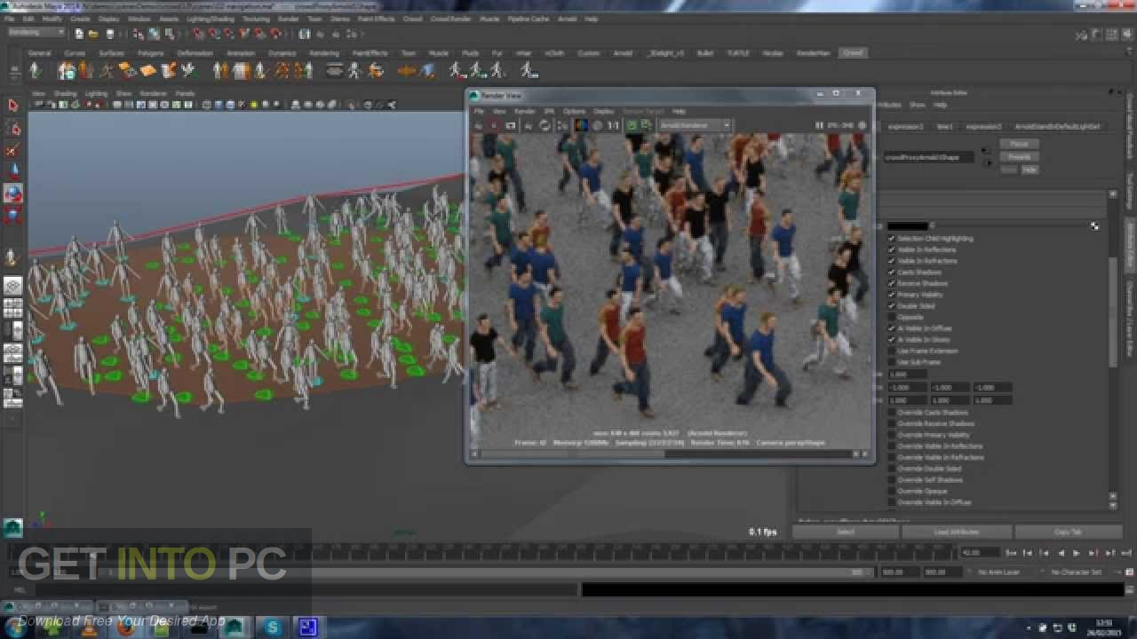 Golaem Crowd for Maya 2017-202 Latest Version Download