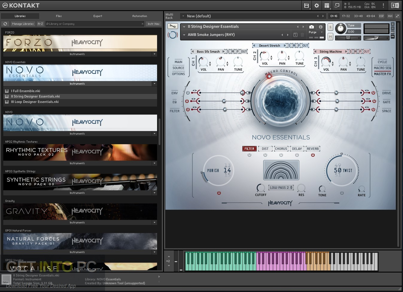 Heavyocity - NOVO Essentials (KONTAKT) Library Direct Link Download-GetintoPC.com