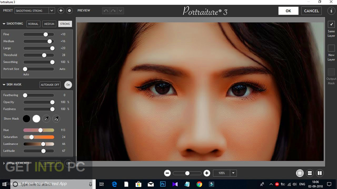 Imagenomic Portraiture 2019 Plugin for Photoshop Lightroom Latest Version Download-GetintoPC.com