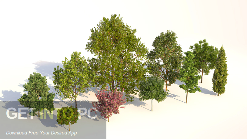 Laubwerk Plants Kit 1 & 2 & 3 for Cinema 4D 3dsMax Direct Link Download-GetintoPC.com