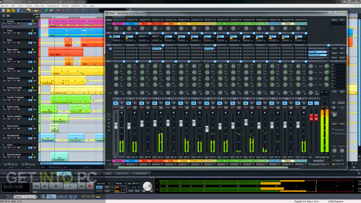 MAGIX SEQUOIA 13 Direct Link Download-GetintoPC.com