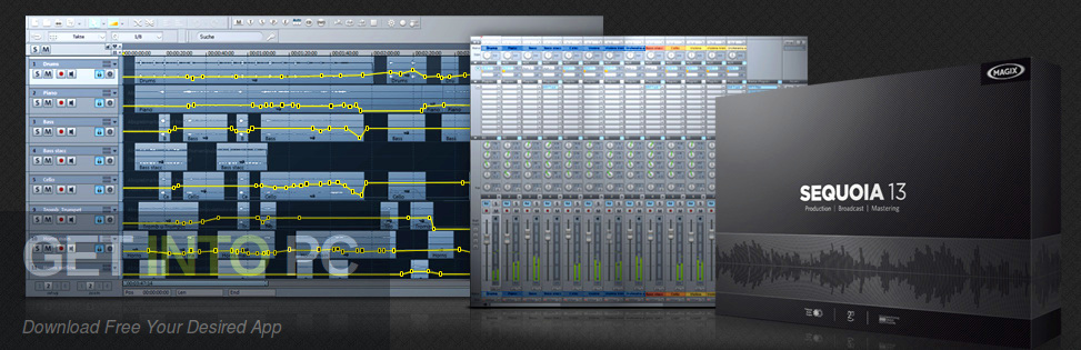 MAGIX SEQUOIA 13 Latest Version Download-GetintoPC.com