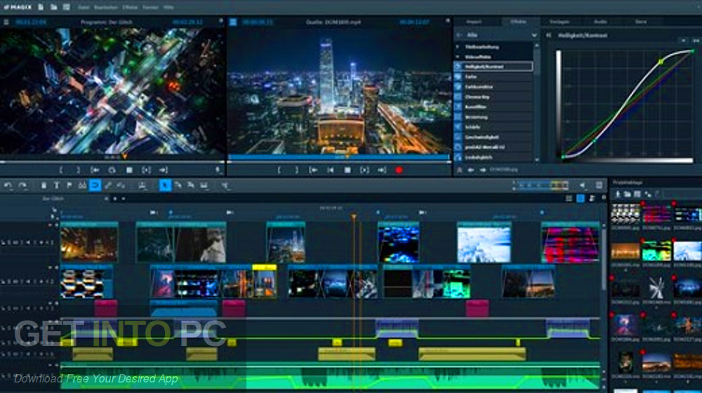 MAGIX Video Pro 2019 X10 Latest Version Download-GetintoPC.com