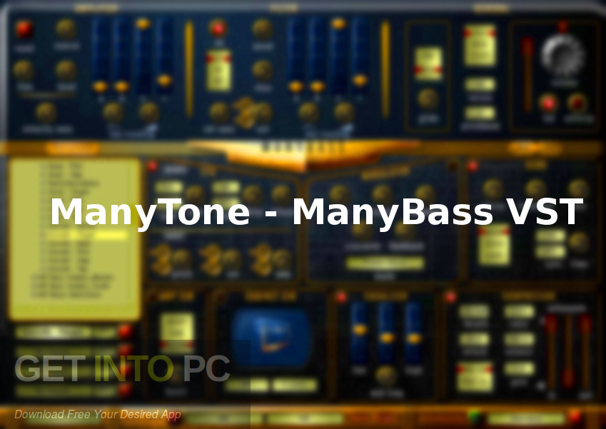 ManyTone - ManyBass VST Free Download-GetintoPC.com