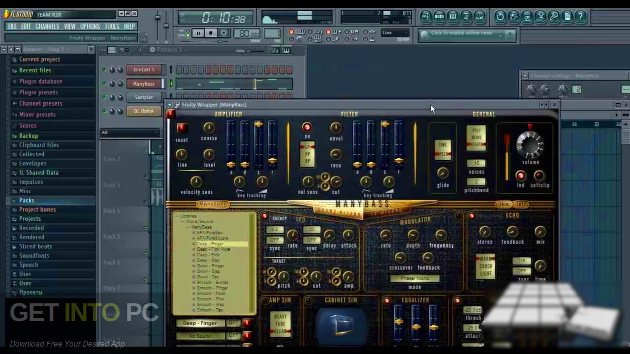 ManyTone - ManyBass VST Offline Installer Download-GetintoPC.com