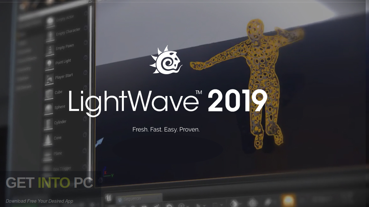 NewTek LightWave 3D 2019 Free Download-GetintoPC.com