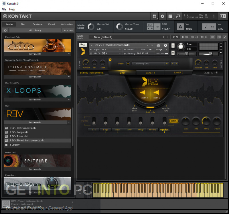 Output Sounds - REV Kontakt Library Download