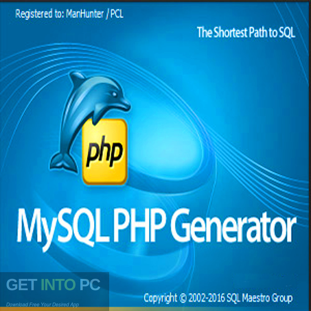 PHP Generator 2019 for MySQL Professional Free Download-GetintoPC.com