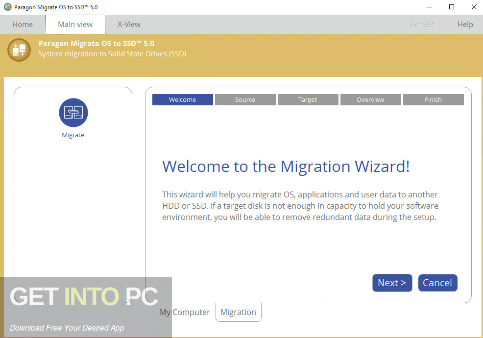 Paragon Migrate OS to SSD Offline Installer Download-GetintoPC.com