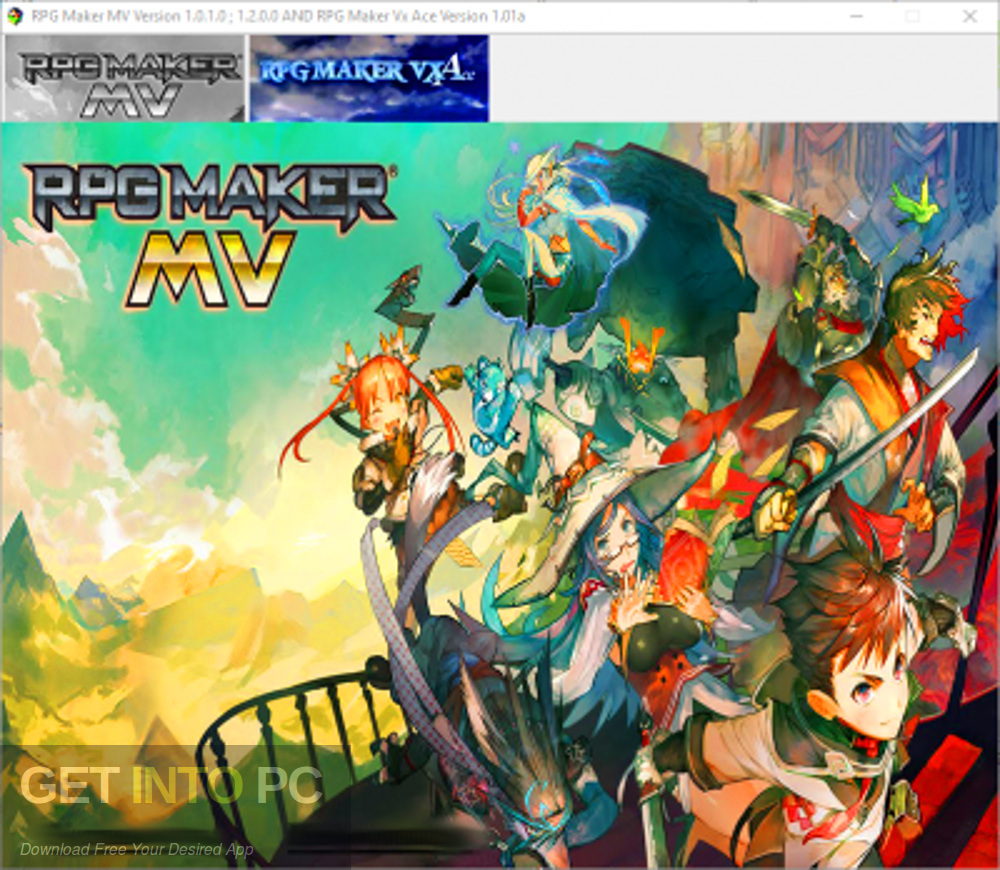 RPG Maker MV And VX Ace Free Download-GetintoPC.com