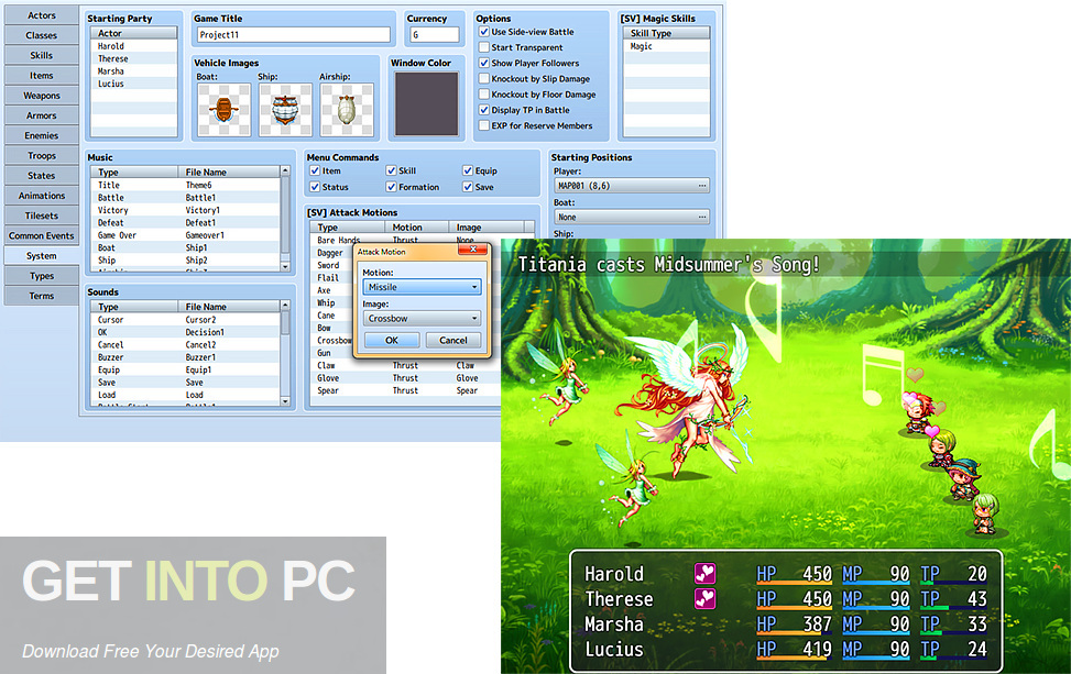 RPG Maker MV And VX Ace Latest Version Download-GetintoPC.com