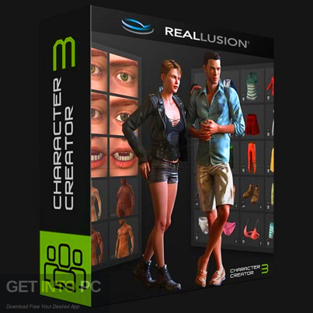 Reallusion Character Creator 3 + Resource Pack - Templates Download