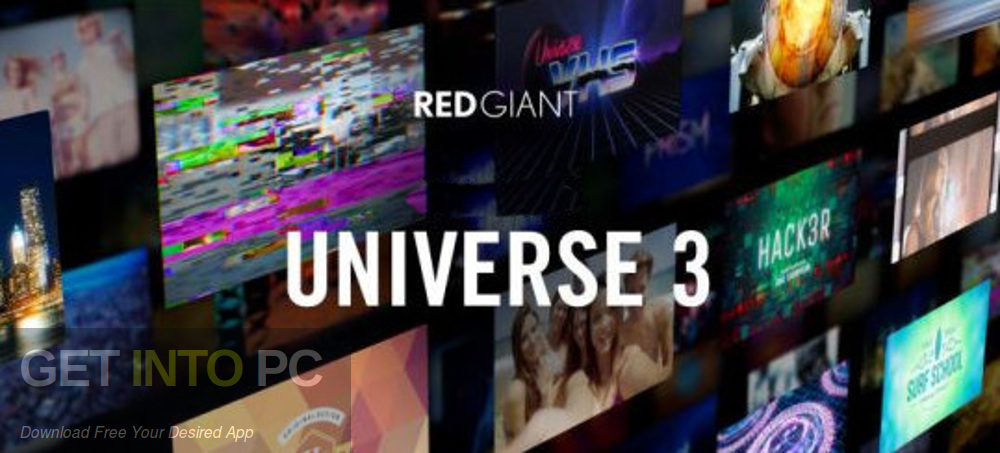 Red Giant Universe 3 Free Download-GetintoPC.com