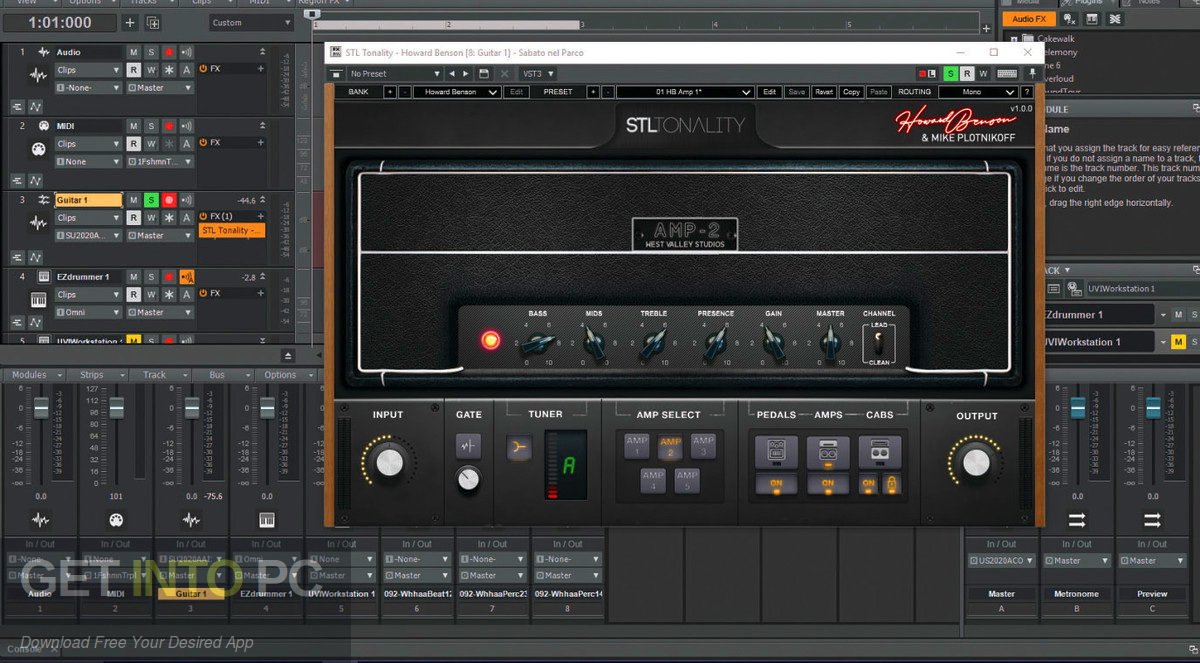 STL Tonality Howard Benson VST Latest Version Download-GetintoPC.com