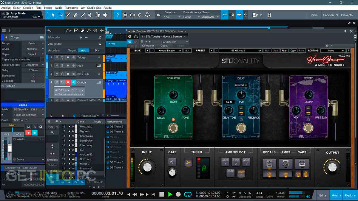 STL Tonality Howard Benson VST Offline Installer Download-GetintoPC.com