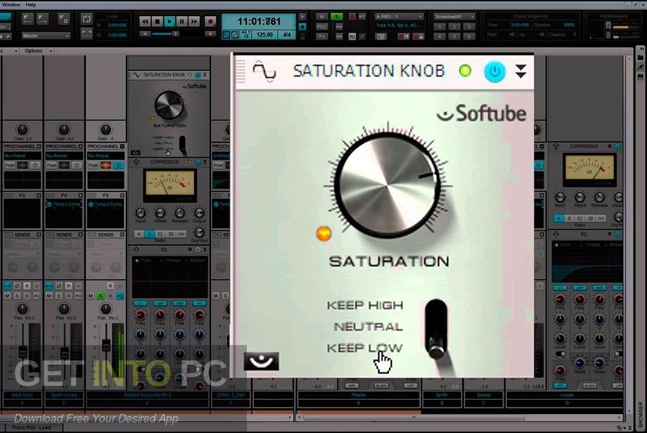 SoftTube - Saturation Knob VST Latest Version Download-GetintoPC.com