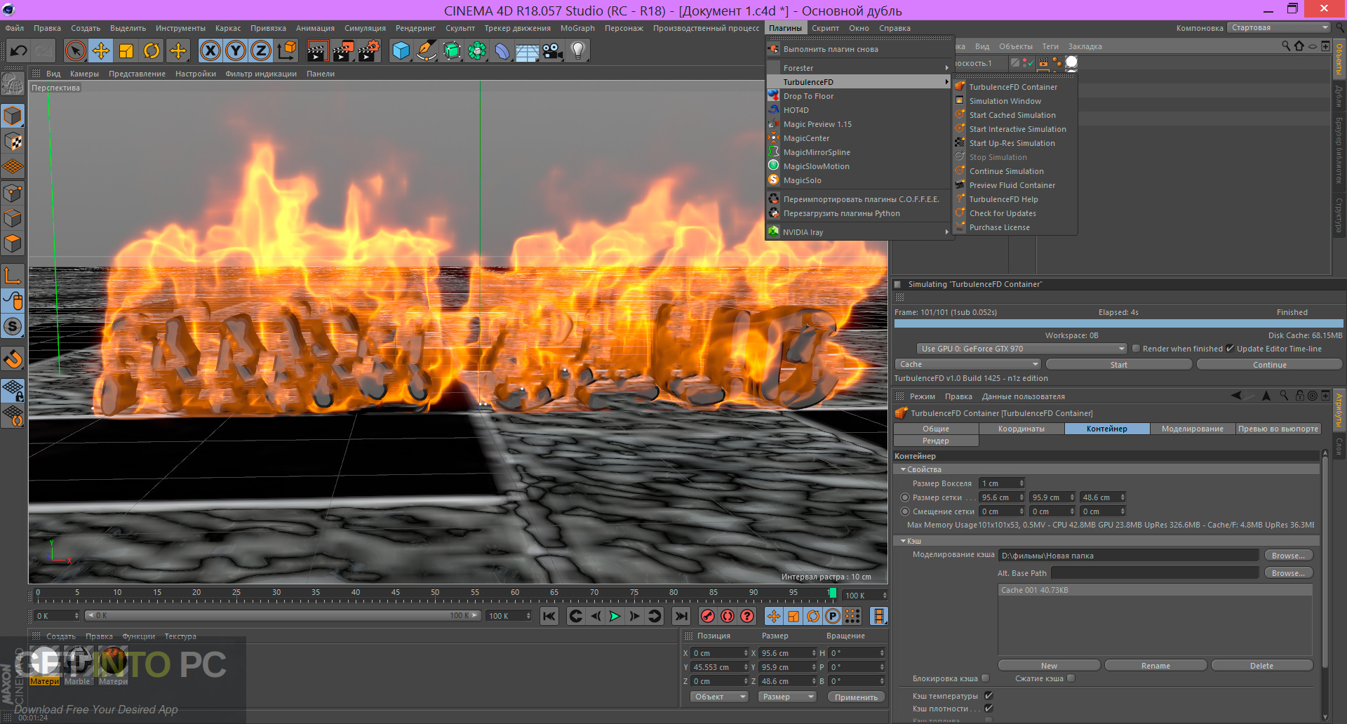 TurbulenceFD 2018 for Cinema4D Latest Version Download-GetintoPC.com