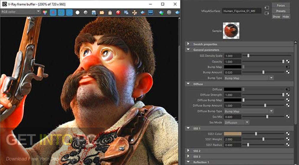V-Ray Next for Maya 2018 2017 2016 2015 Offline Installer Download-GetintoPC.com