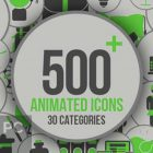 VideoHive - Animated Icons for After Effects Free Download-GetintoPC.com