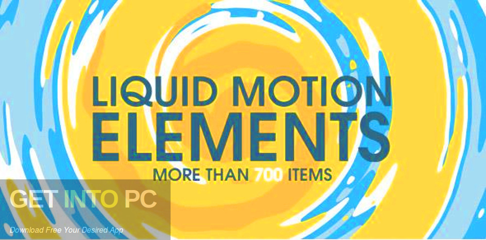 VideoHive Liquid Motion Elements for After Effects Free Download-GetintoPC.com