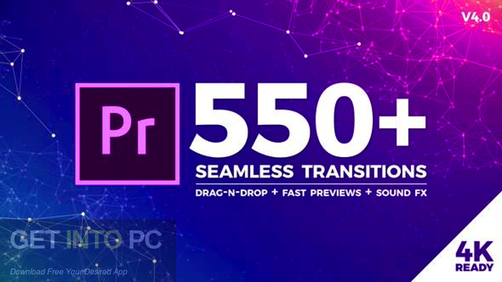 VideoHive - Seamless Transitions for Premiere Pro Free Download-GetintoPC.com