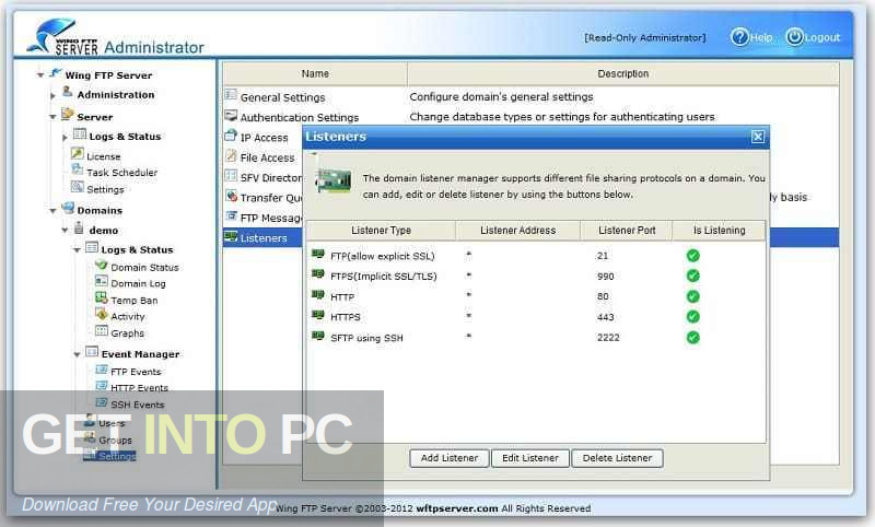 Wing FTP Server Corporate 2019 Direct Link Download-GetintoPC.com