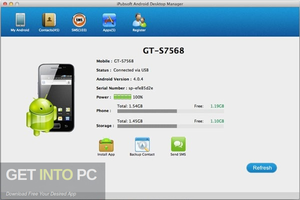 iPubsoft Android Desktop Manager 2019 Direct Link Download-GetintoPC.com