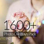 Download 1600+ Photo Overlay Pack for Photoshop