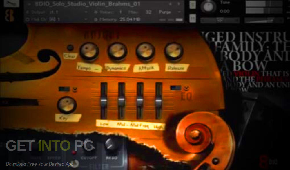 8Dio - Solo Cello Designer (KONTAKT) Offline Installer Download-GetintoPC.com