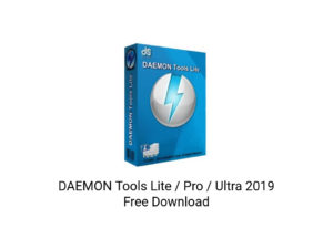 DAEMON-Tools-2019-Free-Download