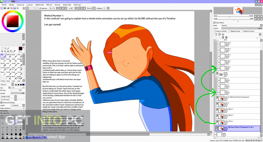 Easy Paint Tool SAI 2 2017 Direct Link DOwnload-GetintoPC.com