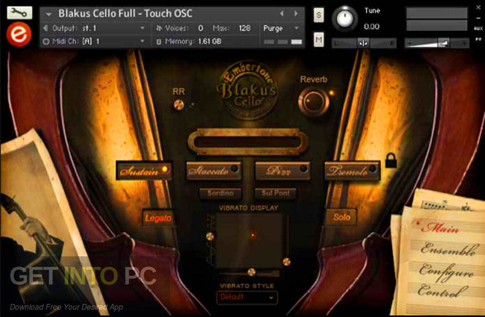 Embertone - Blakus Cello (KONTAKT) Latest Version Download-GetintoPC.com