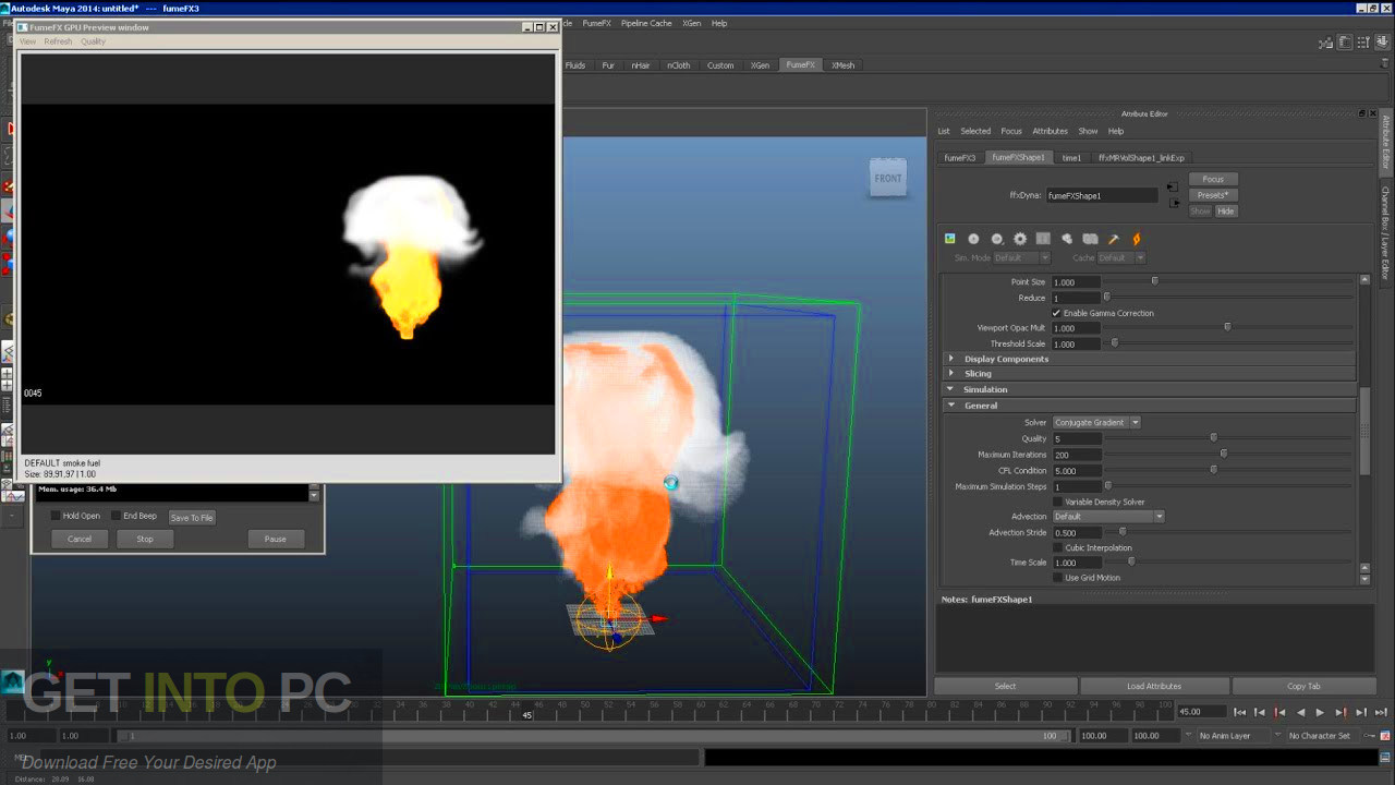 FumeFX for Maya 2016 Latest Version Download-GetintoPC.com