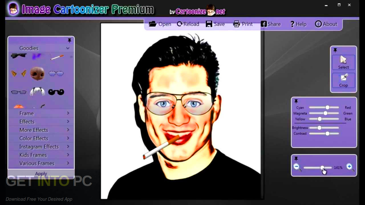 Image Cartoonizer Premium Offline Installer Download-GetintoPC.com