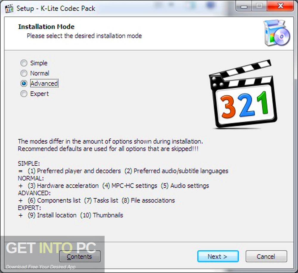 K-Lite Mega Codec Pack 2019 Free Download
