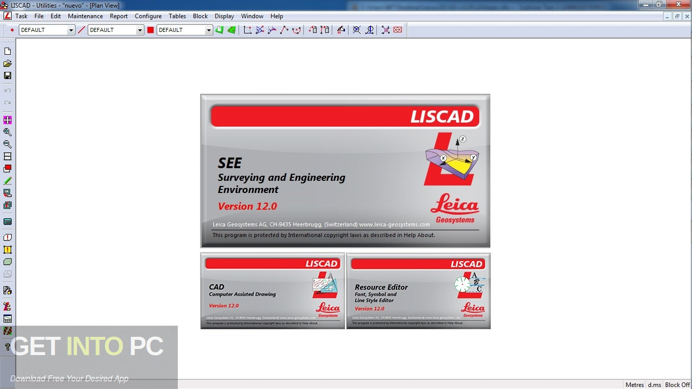 Leica LISCAD 12 Latest Version Download-GetintoPC.com
