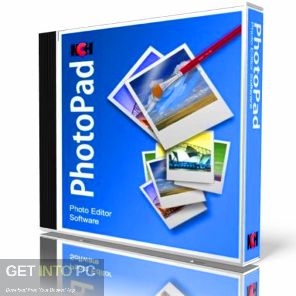 NCH PhotoPad Image Editor Professional 2017 Free Download-GetintoPC.com