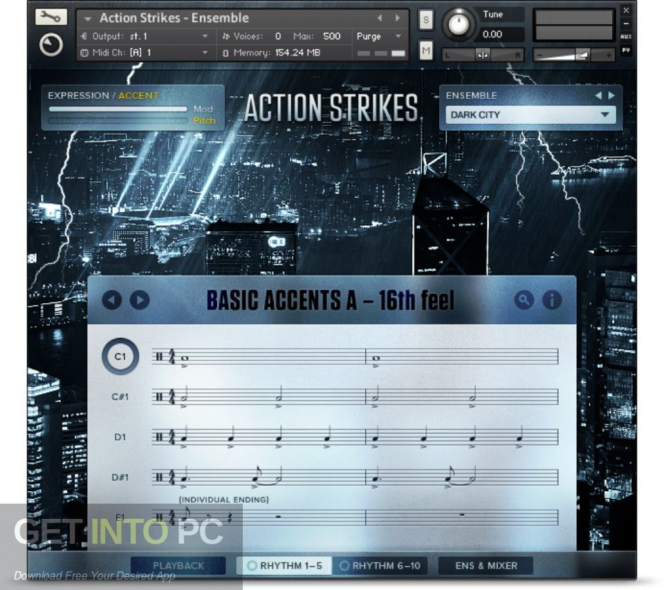 Native Instruments - Action Strikes (KONTAKT, NKI, NKX) Direct Link Download-GetintoPC.com