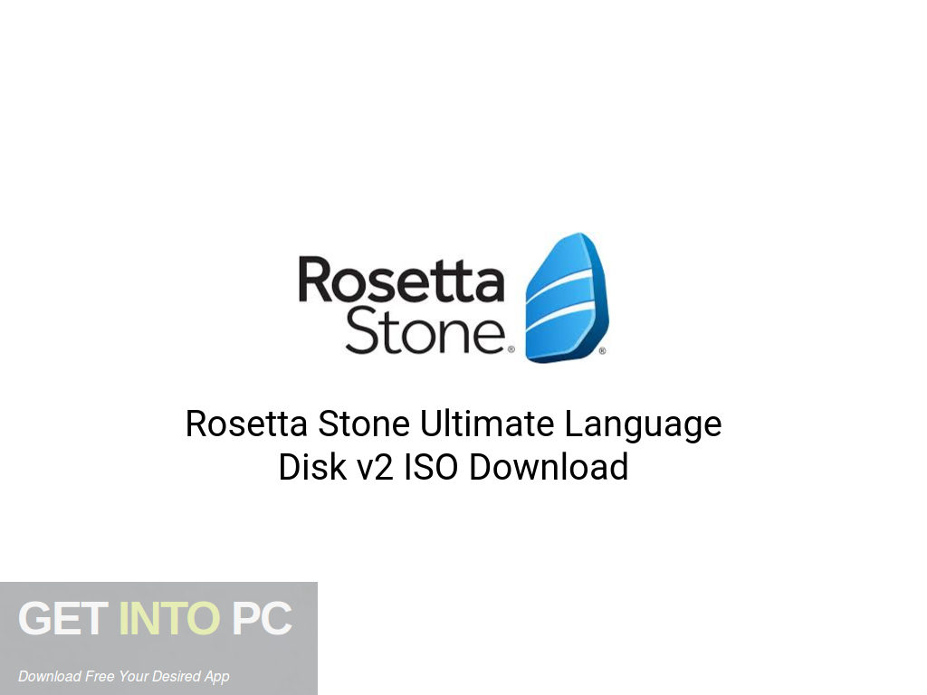 Rosetta Stone Ultimate Language Disk v2 ISO Download
