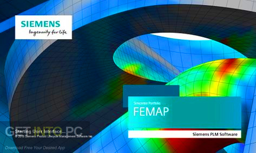Siemens Simcenter FEMAP 2019 Free Download-GetintoPC.com