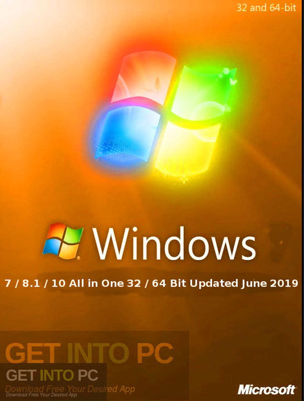 Windows 7 8.1 10 AIl in One 32 64 Bit Updated June 2019 Free Download-GetintoPC.com