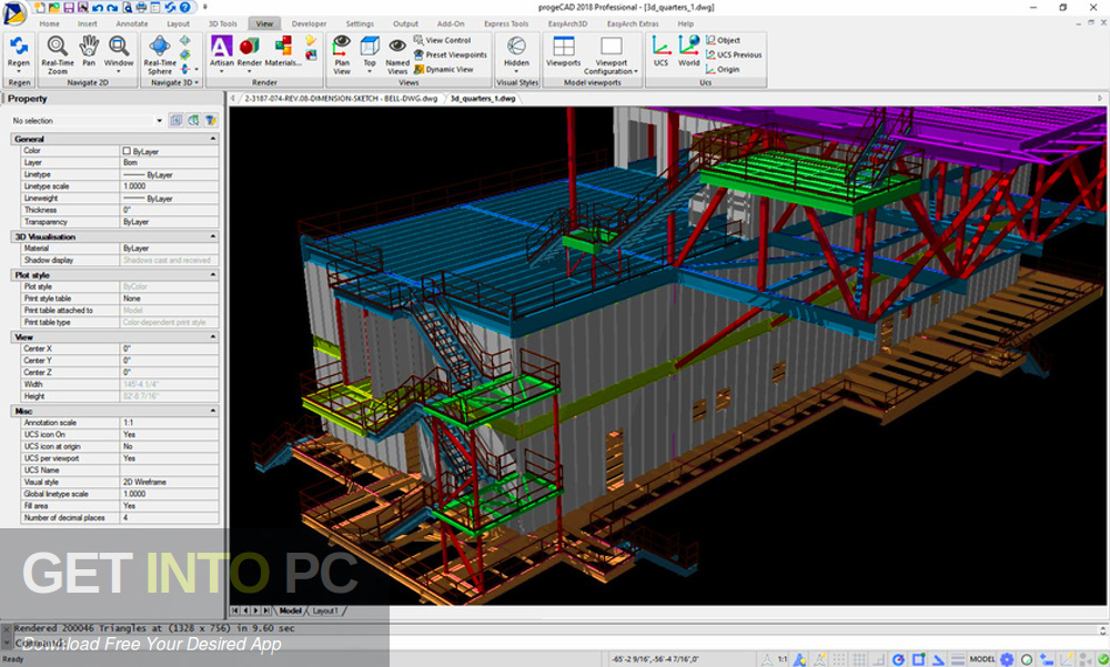 progeCAD 2020 Professional Latest Version Download-GetintoPC.com