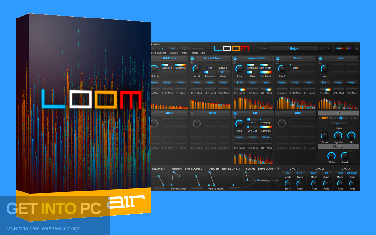 AIR Music Technology - Loom 2 VST Free Download-GetintoPC.com