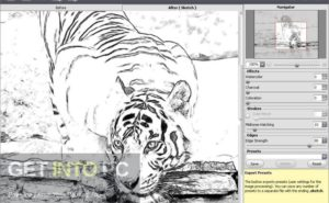 AKVIS Sketch Plugin for Photoshop Offline Installer Download-GetintoPC.com