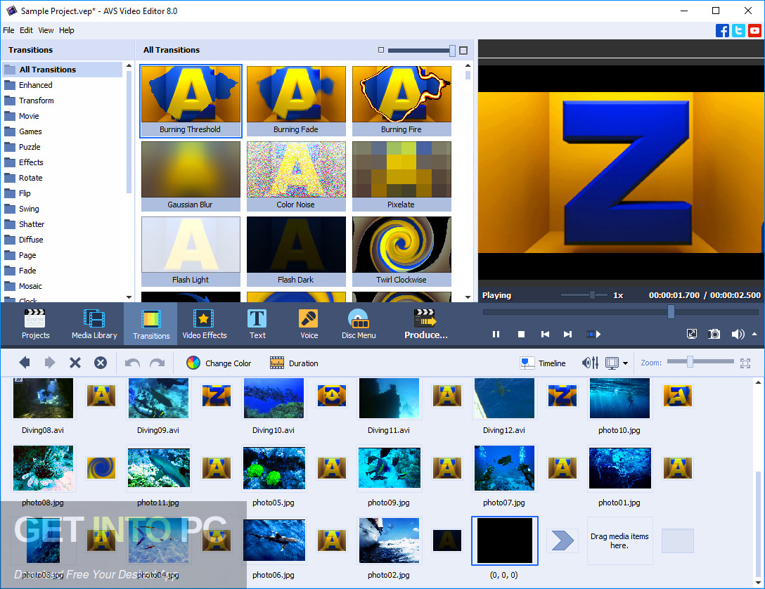 AVS Video Editor 2019 Direct Link Download-GetintoPC.com