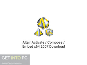 Altair Activate Compose Embed x64 2007 Latest Version Download-GetintoPC.com